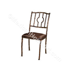 "Hand FOrged Iron Dining Chair ""Tarimbaro"""
