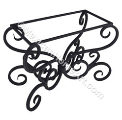 Celaya Hand Forged Iron Table Base