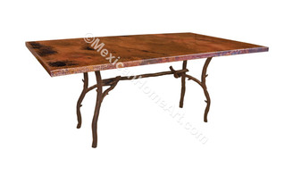 Huerta Hand Forged Iron Table Base-Cannot be purchased separately