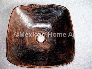 Copper Patinas/ Antique bathroom sink
