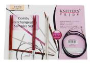 Knitter's Pride Comby Interchangeable Circular Sampler (Dreamz, Cubics, Nova)