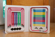 Denise Interchangeable Knitting Needles - Brights!
