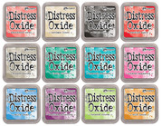 Tim Holtz Distress Oxide Ink Bundle II,  Includes 12 Ink Pads