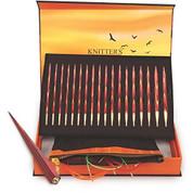 Knitter's Pride Golden Light Limited Edition Interchangeable Circular Needles Gift Set