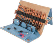 "Knitter's Pride Ginger - 4.5"" Interchangeable Needle Set Deluxe"