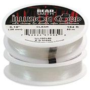 Illusion Monofilament Bead Cord .010 in 6 lb 164ft, 2 Pack