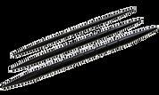 Nirvana Ebony Cable Needles 3pk