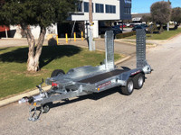 Brian James DP35 3.5t Mechanical Brake Plant Trailer From Digrite