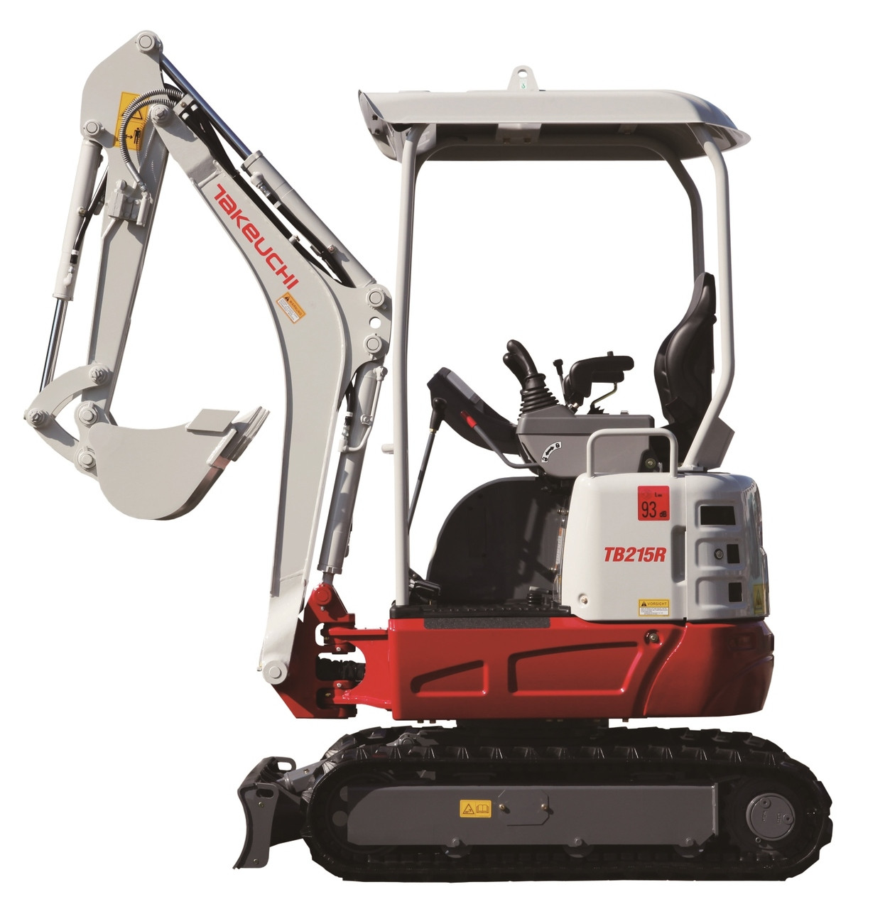 New Takeuchi TB215R 1 6t Reduced Swing - Digrite