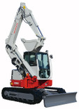New Takeuchi TB280FR 8.5t Zero Swing
