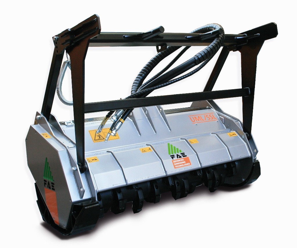 New FAE UML/SSL/VT Skid Steer Mulcher - Digrite