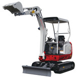 Takeuchi TB216 for hire at Digrite Hire
