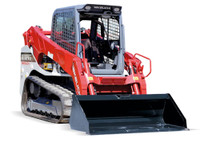 New Takeuchi TL12V2 track loader for hire at Digrite Hire