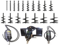 New : Post Hole Auger Drives, Augers and Extensions 0-30t for Hire