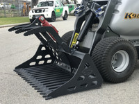 New : Rake Grapple Grab Bucket Dingo Kanga Mini Loader for Hire