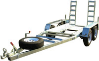 2T Mechanical Brake Plant Trailer for Hire