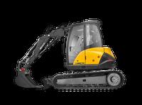 Mecalac 8MCR Skid Excavator