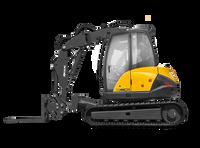 Mecalac 10MCR Skid Excavator