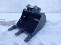 Unused 450mm Trenching toothed bucket suit 1-2t Excavator F004