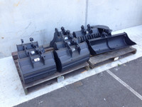 Buckets and Attachments to suit Yanmar VIO17 and VIO15 Mini Excavator