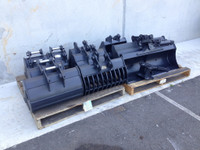 Buckets and Attachments to suit CAT 301.8, 301.7, 301.5 Mini Excavator