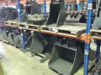 Buckets and Attachments to suit Bobcat E45, E50, E55, E60 Excavator