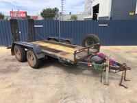 TR12 7.2t Excavator Skid Steer Plant Trailer -404