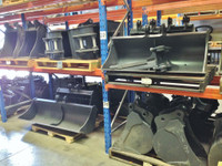 Buckets and Attachments to suit Takeuchi TB135, TB235, TB240, TB138FR Mini Excavator