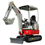 New Takeuchi TB217R 1.7t Reduced Swing