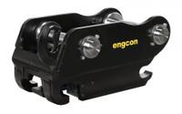 New Engcon QS80 25-33t Hydraulic Top Hitch