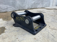 Unused 55mm Pin Head Bracket To Suit 5-7t Excavator F080