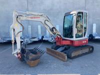 Takeuchi TB138FR 3.8t Excavator 1817 Hours - 274