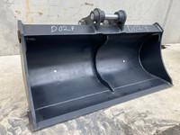 1200mm Batter Mud Bucket to suit 3-4t Excavator D027