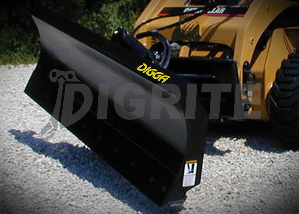 New Digga Skid Steer Dozer Blade - Digrite