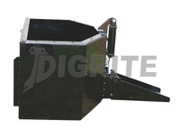 High Quality Skid Steer Concrete Unloading Bucket for sale at Digrite