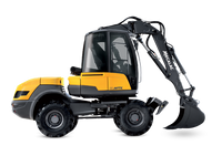 Mecalac 12MTX Wheeled Excavator for sale at Digrite