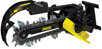 New Digga Skid Steer Bigfoot Trencher