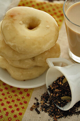 Masala Chai-Glazed Donut Recipe