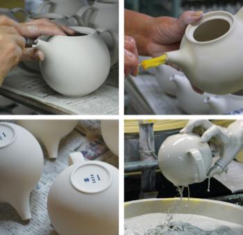 Handmade Pebble Teapot