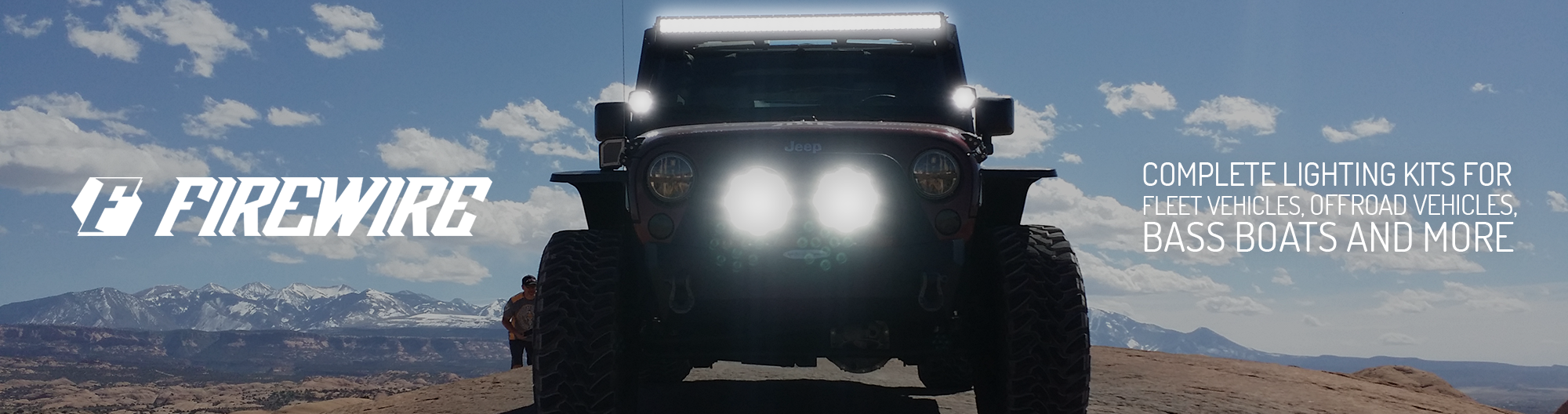 Firewire Leds Every Led For Application Complete Jeep Tj Windshield Lights Wiring Saftey Wire Strobe Lighting