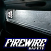 FIREWIRE 36 INCH HD COMPARTMENT LIGHTING USED IN A STORAGE COMPARTMENT