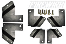 FORD F-150 SVT RAPTOR DUAL CUBE FOG LIGHT BRACKET