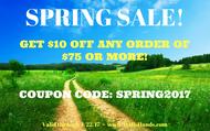 2017 Spring Sale