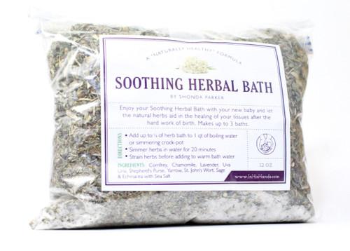 Soothing Herbal Bath