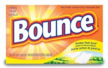 Bounce Fabric Softener Sheets - Coin Vend