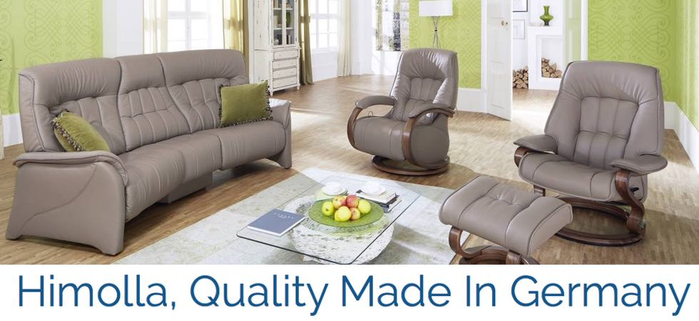 Relaxing Himolla Furniture is  Available at Unwind- Call Today