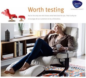 Ekornes Worth Testing Image
