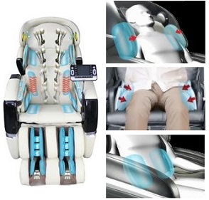 Multi-Point Airbag Massaging System- Osaki Chairs