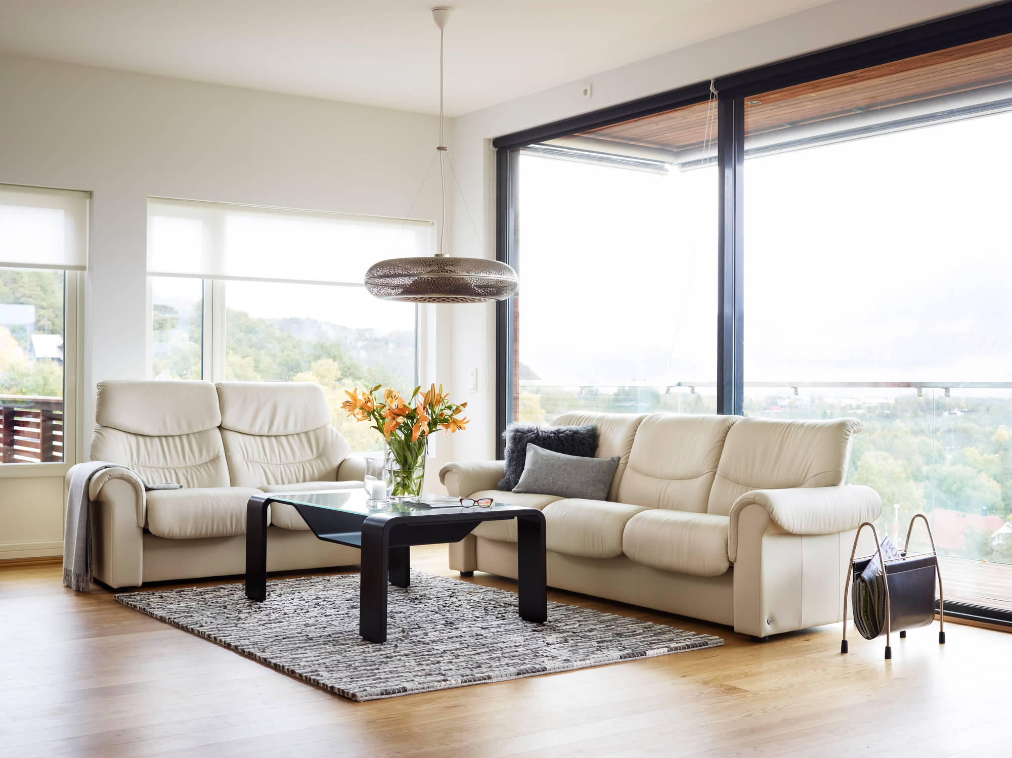 Liberty Sofa and matching love seat by ekornes