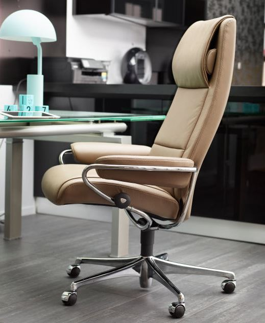 Stressless Office Chairs- Increase your comfort and productivity.